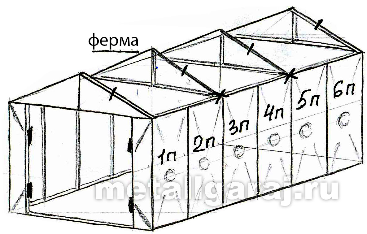 Волговский гараж схема сборки